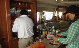 Bar in Yacht