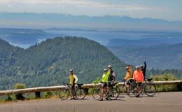 SanJuanIsland biking cycling Seattle Yacht Charters Daily
