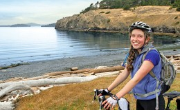 SanJuanIsland biking cycling2 Seattle Yacht Charters Daily