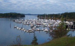 roche-harbor-marina-san-juan-islands-Seattle yacht charters daily