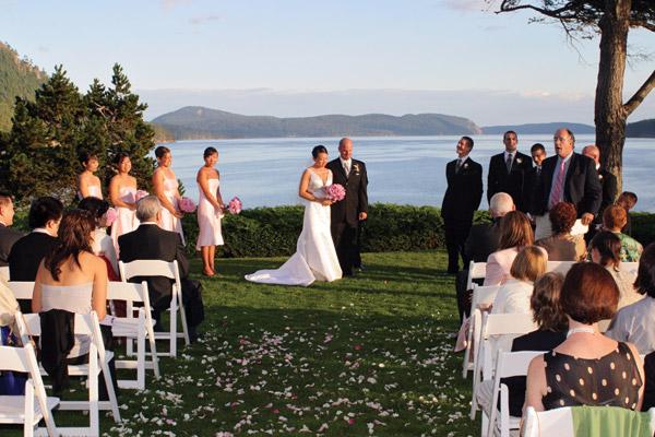 San Juan Historical Museum Wedding Reception Charters Pacific Northwest
