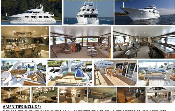 123′ Sovereign Lady Luxury Mega Yacht