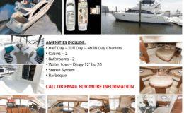 46′ Meridian Luxury Yacht