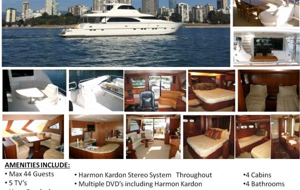 82′ Horizon Luxury Yacht