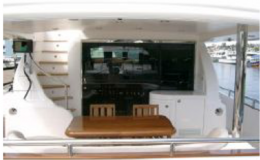 82′ Horizon Luxury Yacht Seattle Yacht Charters Daily Aft Deck