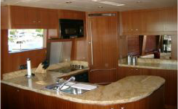 82′ Horizon Luxury Yacht Seattle Yacht Charters Daily3 Gourmet Galley