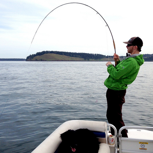 Yacht Fishing Pacific Northwest