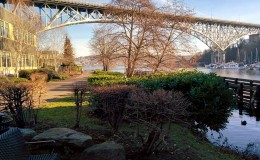 Aurora_Bridge_in_Fremont,_Seattle_-_from_path_along_Fremont_Cut