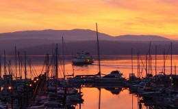 sunrise_ferry_at_friday_harbor_300dpi_8x12_by_michael_bertrand_3
