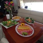 Luxury Catering on Yacht