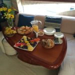 Catering on Yacht